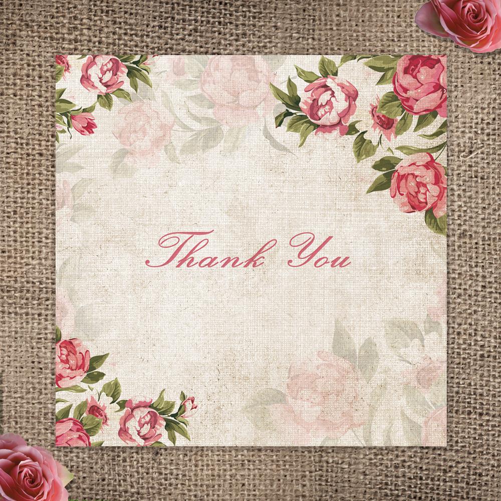 011Vintage Rose_Thank You
