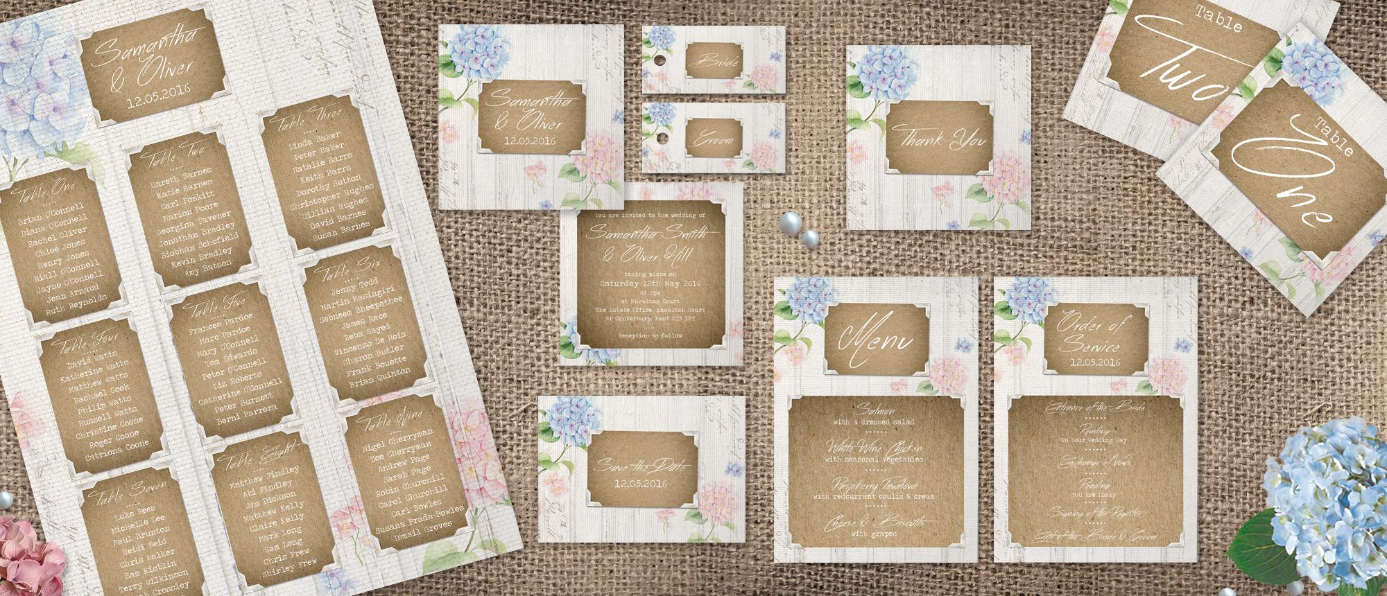 Heart Invites_Collection_Hydrangea Garden