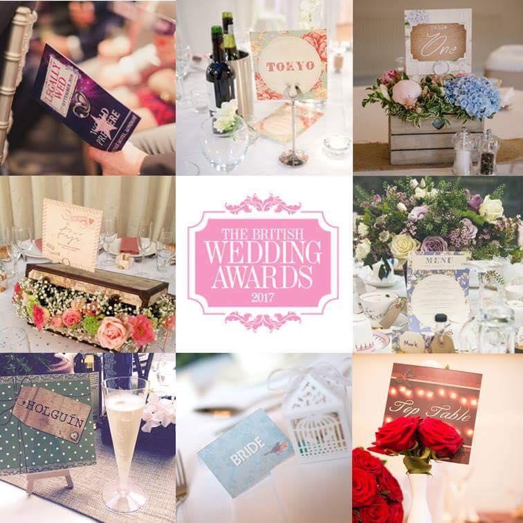 Best Wedding Stationery Nomination!