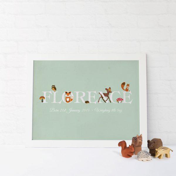 Name Customised Print | Heart Invites | Beautiful Personalised Wedding Stationery