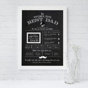 best dad print